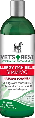 1Vet's Best Allergy Itch Relief Shampoo for Dogs
