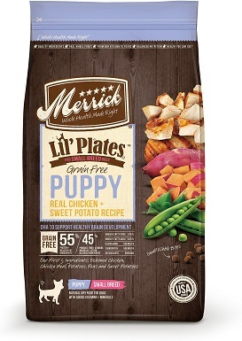 4Merrick Lil' Plates Grain-Free Real Chicken & Sweet Potato Puppy Dry Dog Food