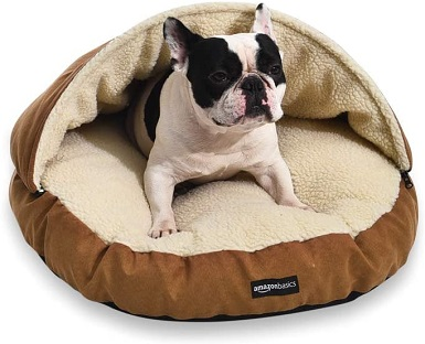 Amazon Basics Dog Cave Bed Cave Bed