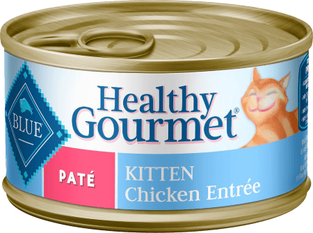 Blue Buffalo Healthy Gourmet Pate Kitten Chicken Entrée Canned Cat Food