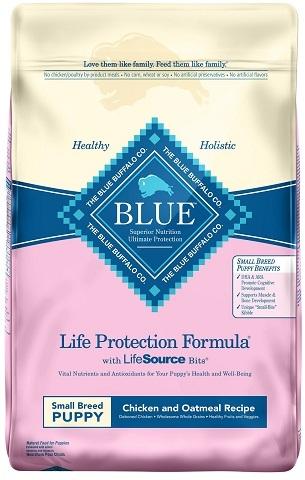 Blue Buffalo Life Protection Formula Small Breed Puppy Chicken & Oatmeal Recipe Dry Dog Food