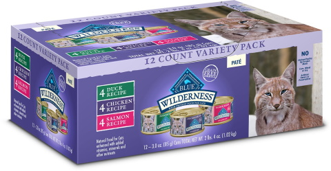 Blue Buffalo Wilderness canned cat food_Chewy