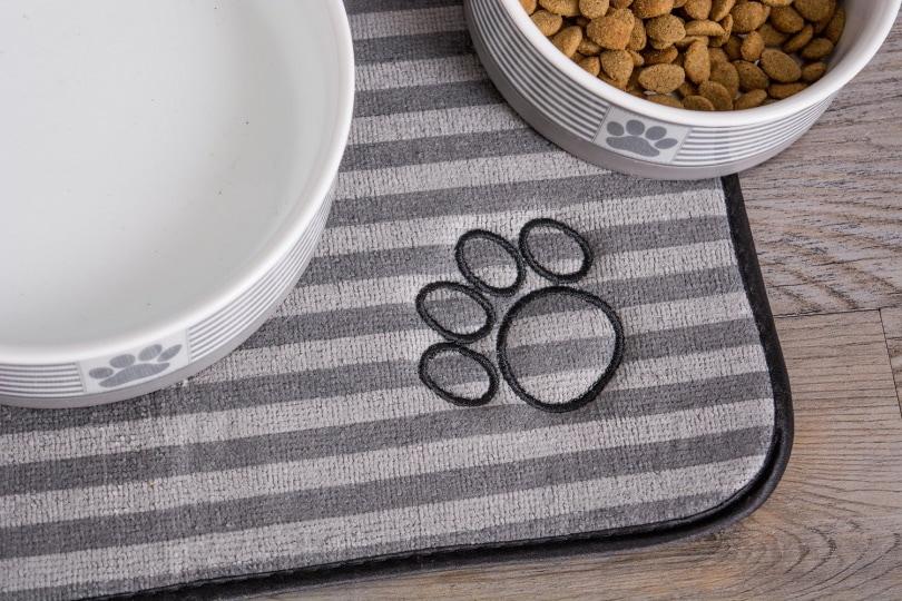 Bone Dry cat food mat_Chewy