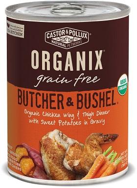 Castor & Pollux Organix Grain-Free Butcher & Bushel
