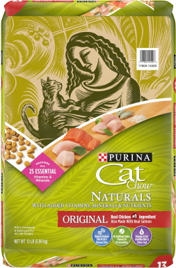 Cat Chow Naturals Original Dry Cat Food_Chewy