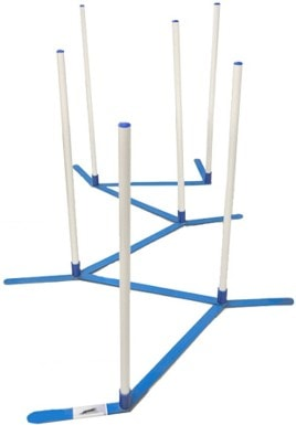 Cool Runners Agility Dog Training Weave Poles