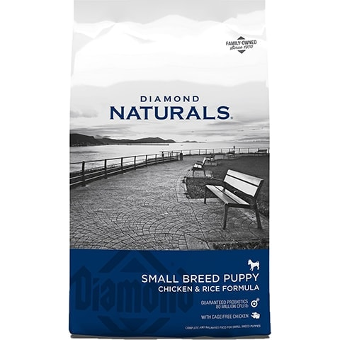 Diamond Naturals Small Breed Puppy Formula Dry Dog Food