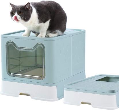 Dymoll Cat Litter BoxDymoll Cat Litter Box_Amazon