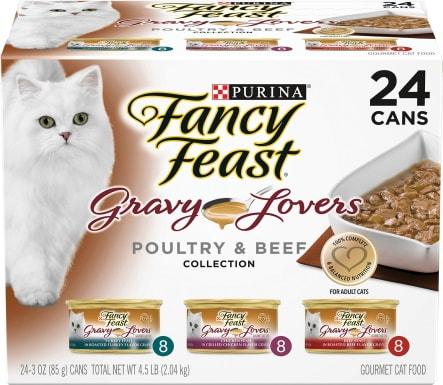 Fancy Feast canned cat food_Chewy