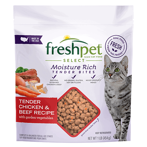 Freshpet® Select Tender Chicken & Beef Recipe for Cats