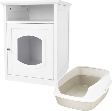 Frisco Decorative Side Table Litter Box_Chewy