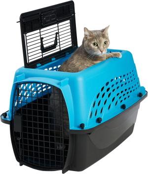 Frisco Two Door Top Load Plastic cat carrier_Chewy