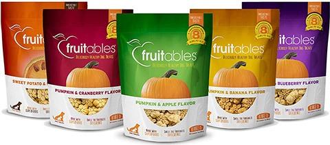 Fruitables All Natural Vegetarian Pumpkin Baked Dog Treats