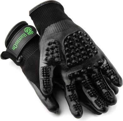 HandsOn Bathing & Grooming Gloves_Chewy
