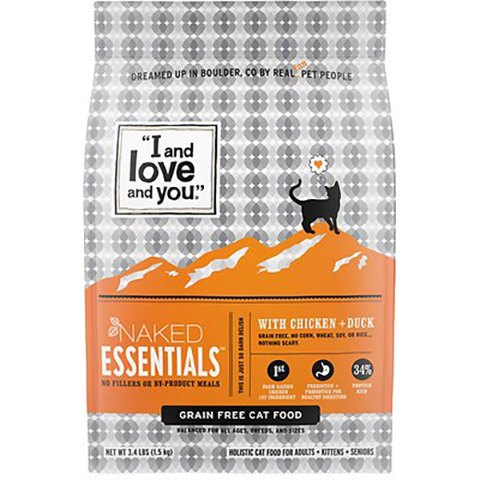 I and Love and You Naked Essentials Chicken & Duck Recipe Grain-Free Dry Cat Food