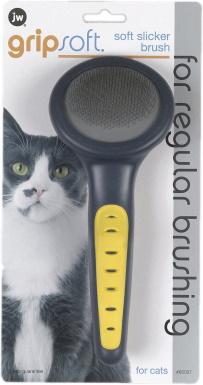 JW Pet Gripsoft Cat brush_Chewy