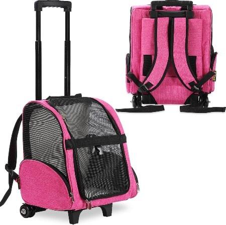 Kopeks Deluxe Backpack Dog & Cat Carrier, Large