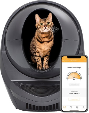 Litter robot automatic cat litter box_Chewy