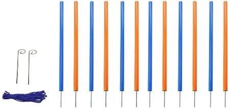 MiMu Dog Agility Equipment Weaving Poles