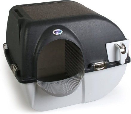 Omega Paw EL-RA15-1 Elite Roll 'n Clean Litter Box_Amazon