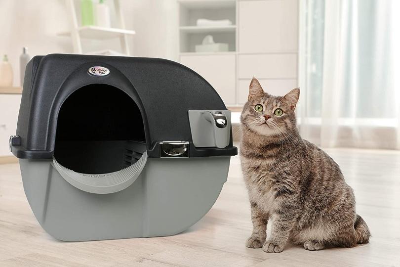 Omega Paw cat litter box_Amazon