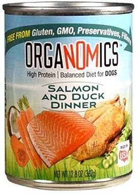 OrgaNOMics Salmon & Duck Dinner Organic