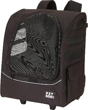 Pet Gear I-GO Plus Traveler Dog & Cat Backpack & Rolling Carrier