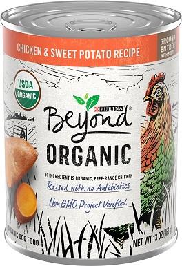 Purina Beyond Organic Chicken