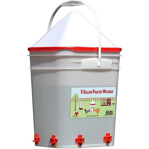 RentACoop 5 Gallon Chicken Waterer