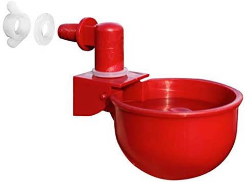 RentACoop Automatic Chicken Water Nipple Cup Waterer Kit