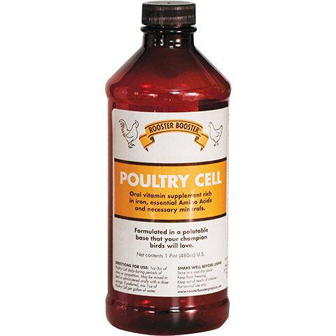 Rooster Booster Cell Liquid Vitamin Poultry Supplement