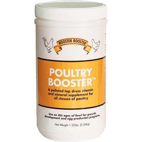 Rooster Booster Poultry Booster Pellet Vitamin Supplement