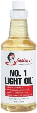 Shapley's No. 1 Light Oil