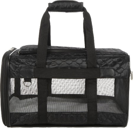 Sherpa Travel Original Deluxe Lattice Print Airline Approved Pet Carrier