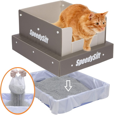 SpeedySift Cat Litter Box_Amazon