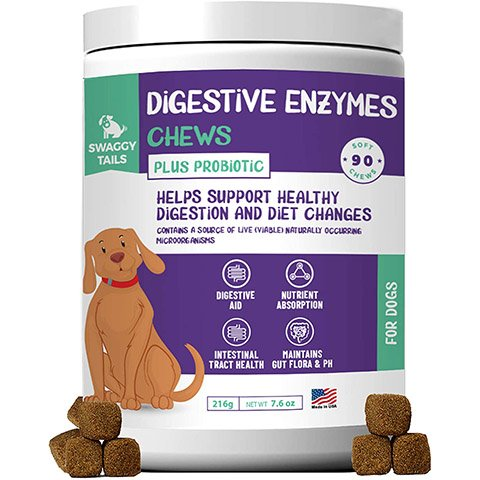 Swaggy Tails Digestive Enzyme Chews