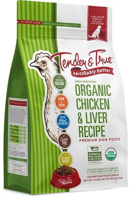 Tender & True Organic Grain-Free Chicken