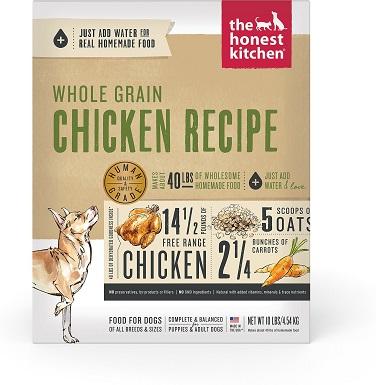 The Honest Kitchen Whole Grain Chicken