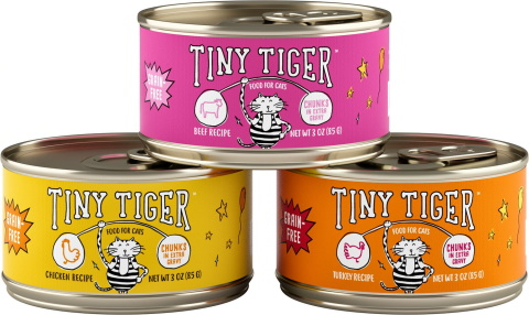 Tiny Tiger Chunks canned cat food_Chewy