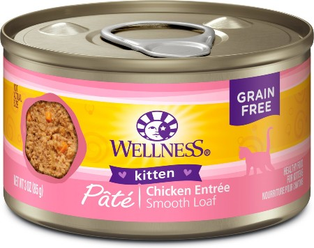 Wellness Complete Health Kitten Formula Grain-Free Canned Cat Food