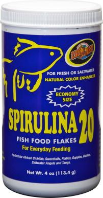 Zoo Med Spirulina 20 Fish Food_Chewy
