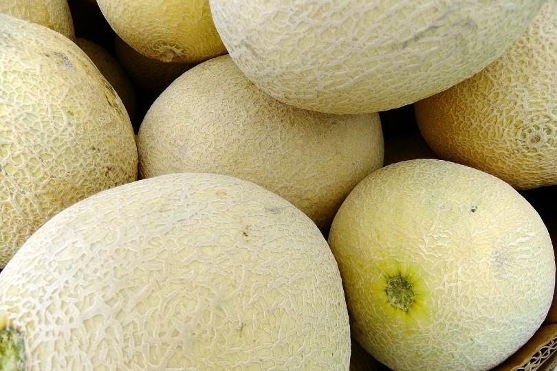 whole cantaloupes