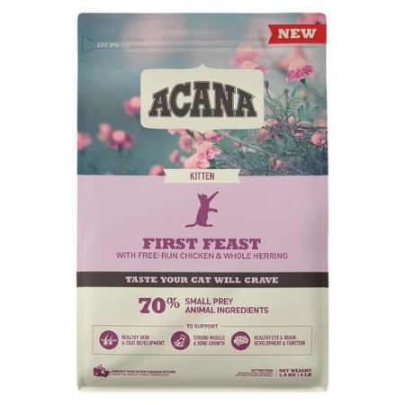 ACANA First Feast High-Protein Kitten Dry Cat Food