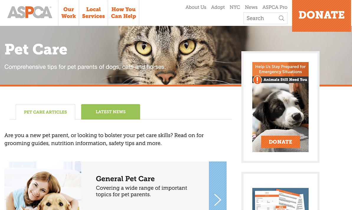 ASPCA Pet Care