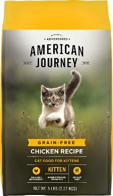 American Journey Kitten Chicken Recipe Grain-Free Dry Cat Food
