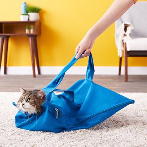 Cat-in-the-bag E-Z-Zip Cat Carrier Bag