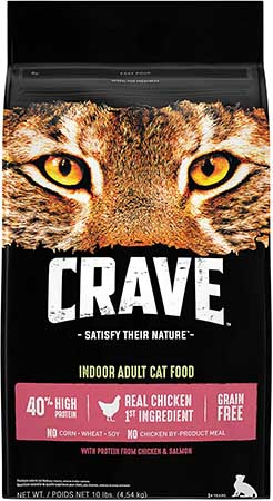 Crave Adult Chicken and Salmon Dry Cat Food