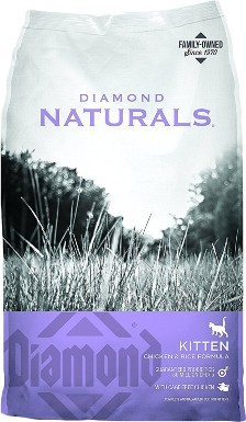 Diamond Naturals Kitten Formula Dry Cat Food