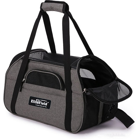 EliteField Soft-Sided Airline-Approved Dog & Cat Carrier Bag