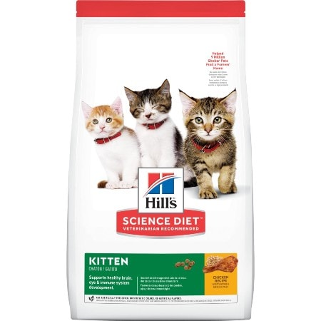 Hill's Science Diet Kitten Chicken Recipe Dry Cat Food